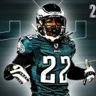 Asante Samuel Philadelphia Eagles NFL Football Sport 32x24 Print POSTER