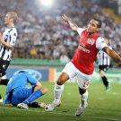 Theo Walcott Arsenal Goal Football 32x24 Print POSTER