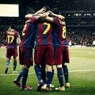 FC Barcelona Champions League Football 32x24 Print POSTER