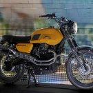 MotoGuzzi V7 Scrambler Concept Bike 32x24 Print POSTER