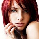 Susan Coffey Redhead Girl Portrait 32x24 Print POSTER