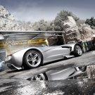 Race Sport Silver Supercar 32x24 Print POSTER