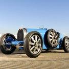 Bugatti Type 35 192430 Retro Car 32x24 Print POSTER