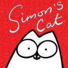 Simon S Cat Cool Art Minimal 32x24 Print Poster