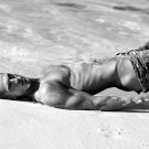 Hot Sexy Guy Beach Bw Male 32x24 Print Poster