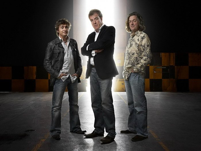 Top Gear Clarkson Hammond May Male 32x24 Print Poster