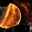 Asteroids Planet Universe Space 32x24 Print POSTER
