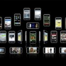 Relief Touch Screen Cell Phones 32x24 Print Poster