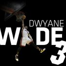 Dwayne Wade Miami Heat NBA 2011 32x24 Print Poster
