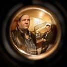Peephole The Sopranos Tony Paulie 32x24 Print Poster