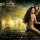 PHILIP And SYRENA Pirates Caribbean 32x24 Print Poster