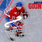 Brian Gionta Montreal Canadiens NHL 32x24 Print Poster