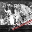 Michael Jordan Julius Erving NBA 32x24 Print Poster