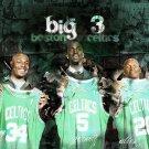 Boston Celtics Big 3 NBA Basketball 32x24 Print Poster