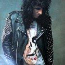 Singer Music Alice Cooper Hard Rock Heavy Metal 32x24 Print POSTER