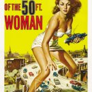 Attack Of 50 Foot Woman Allison Hayes 32x24 Print POSTER