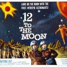 12 To The Moon Movie Dewitt Bodeen 32x24 Print POSTER