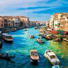 Canal Gande Venice Rialto 32x24 Print POSTER