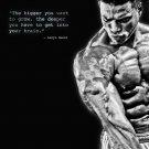 Lenyn Nunez Washington Bodybuilding Inspiration 32x24 Print POSTER