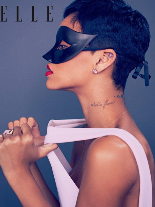 Rihanna Singer Music Raggae Pop 32x24 Print POSTER