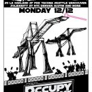 Wes Occupy Strikes Back Coast 32x24 Print POSTER