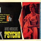 Psycho 1960 Alfred Hitchcock Movie Vintage 32x24 Print Poster