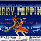 Mary Poppins Retro Movie Vintage 32x24 Print Poster