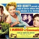 I Married A Communist Retro Movie Vintage 32x24 Print Poster