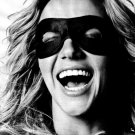 Britney Spears Amazing Smile Portrait BW 32x24 Print Poster