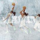 Kenneth Faried Manimal Art Dunk Sport 32x24 Print Poster