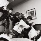 Beatles Band BW Photo Art 32x24 Print Poster