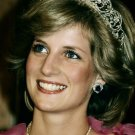 Diana Princess Of Wales Portrait 32x24 Print Poster