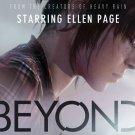 Beyond Two Souls Ellen Page Video Game 32x24 Print Poster