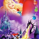 Sleeping Beauty Walt Disney Art 32x24 Print Poster