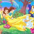 Beauty And The Beast Disney Art 32x24 Print Poster