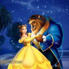Beauty And The Beast Dance Disney Art 32x24 Print Poster