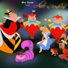Alice In Wonderland Disney Art 32x24 Print Poster