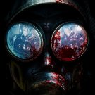 Resident Evil Operation Racoon City Gas Mask 32x24 Print Poster