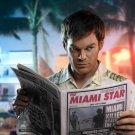 Dexter TV Series Newspaper 32x24 Print Poster