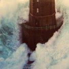 Lighthouse Sea Surge Wave Amazing 32x24 Print Poster