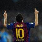 Barcelona Lionel Messi Football 32x24 Print Poster