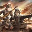 Valkyria Chronicles Anime Art 32x24 Print Poster