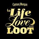 Captain Morgan Rum Logo 32x24 Print Poster