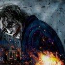 Heath Ledger Joker Dark Knight Art 32x24 Print Poster