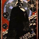 Star Wars Propaganda Vader New Hope Art 32x24 Print Poster
