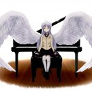 Angel Beats Anime Wings Art 32x24 Print Poster