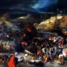 Bruegel Triumph Of Death Painting Art 32x24 Print Poster