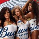 Budweiser Girls Beer Advertising Hot 32x24 Print Poster
