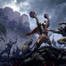 Asian Warriors Battle Art 32x24 Print Poster