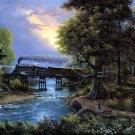 Jesse Barnes Painting Art 32x24 Print Poster